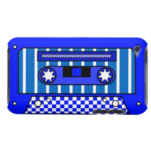 Blue Cassette Tape iPod Touch Cover