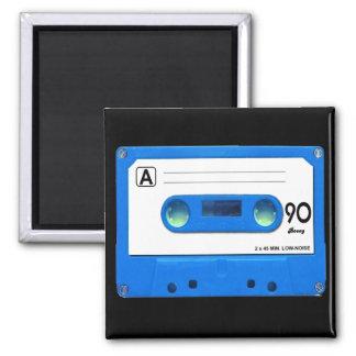 Blue Cassette Tape Magnet
