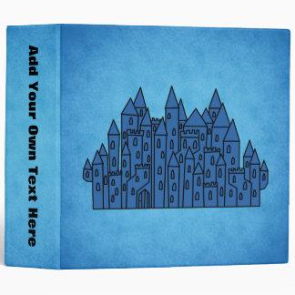 Blue Castle. 3 Ring Binder