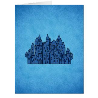 Blue Castle. Card