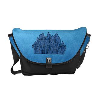 Blue Castle. Courier Bags