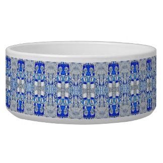 Blue Cat Lady Bowl