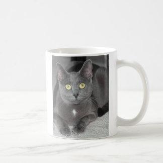 Blue Cat Mug