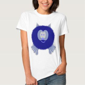 Blue Cat Pom Pom Pal Shirt