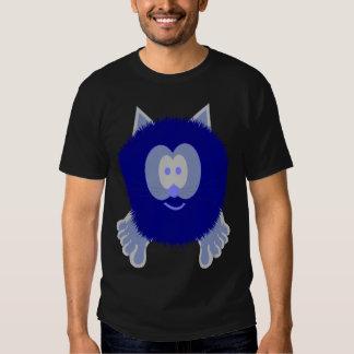 Blue Cat Pom Pom Pal Tee Shirt