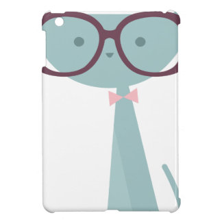 Blue Cats wearing Glasses Cover For The iPad Mini