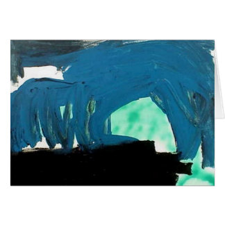 Blue Cave Card