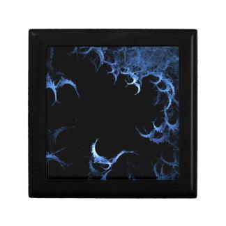 blue cave fractals monster caja de recuerdo