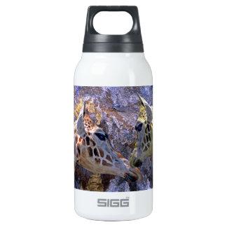 Blue Cave Giraffes Children's Fantasy Insulated Water Bottle