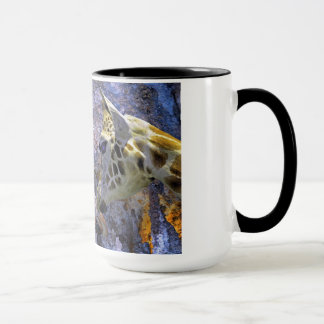 Blue Cave Giraffes Children's Fantasy Mug