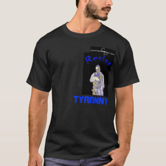 blue, cd-logo, Tyranny T-Shirt