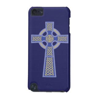 Blue Celtic Cross iPod Touch Case