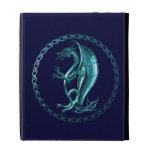 Blue Celtic Dragon iPad Cases