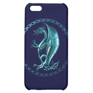 Blue Celtic Dragon iPhone 5C Case