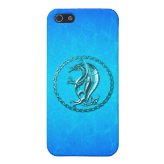 Blue Celtic Dragon Covers For iPhone 5