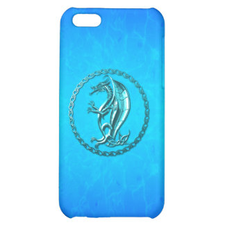 Blue Celtic Dragon iPhone 5C Covers