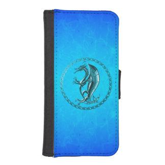 Blue Celtic Dragon iPhone 5 Wallets