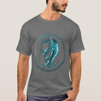 Blue Celtic Dragon Shirt