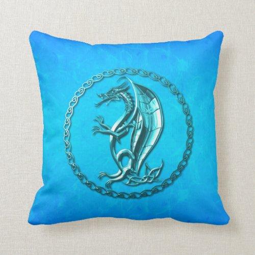 Blue Celtic Dragon