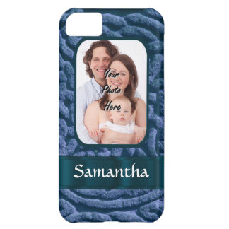 Blue Celtic knotwork iPhone 5C Case