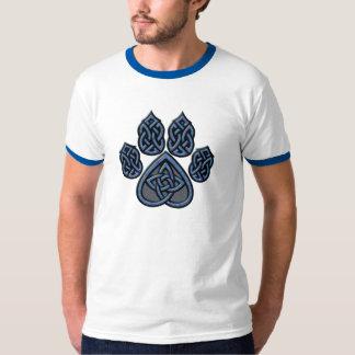 Blue Celtic Pawprint Shirt