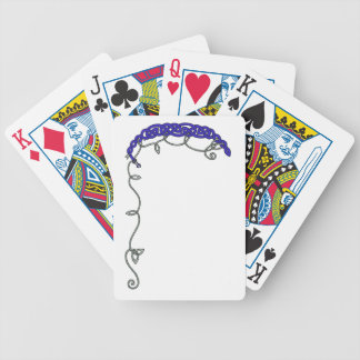 Blue Celtic Serpent Bicycle Playing Cards