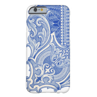 Blue Certificate Barely There iPhone 6 Case