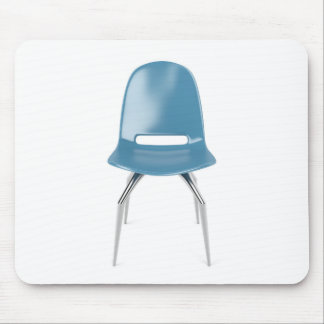 Blue chair mouse pad