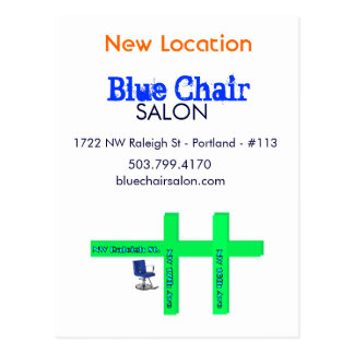 Blue Chair Moving Card Version ORDER THIS ONE!!