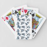 Blue chairs card deck