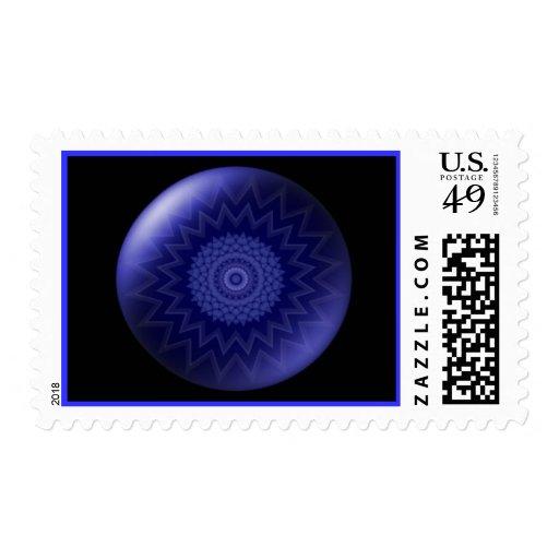 Blue Chakra Postage