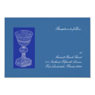 Blue Chalice Reception Card