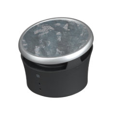 Blue Chalk And Black Ink Bluetooth Speaker at Zazzle