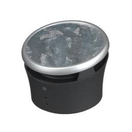Blue Chalk and Black Ink Bluetooth Speaker