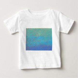 Blue Chalk Art Baby T-Shirt