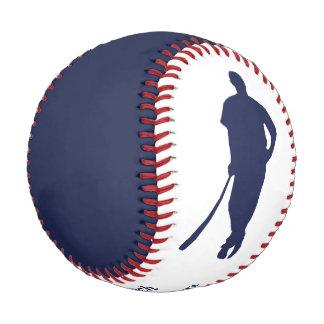 Blue Champion Coach Personalized Baseball