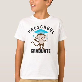 Blue & Charcoal | Preschool Graduate Tee