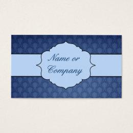 Blue Charmoso Business Card