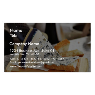 Blue Chcvre Cheese Business Card