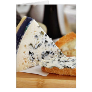 Blue Chcvre Cheese Card