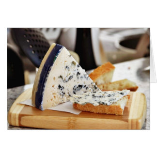 Blue Chcvre Cheese Greeting Cards