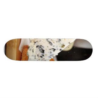 Blue Chcvre Cheese Skate Deck