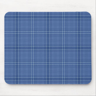 Blue Check Mousepad