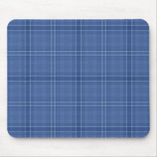Blue Check Mousepad