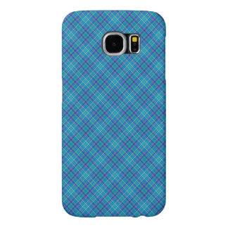 Blue checked Case