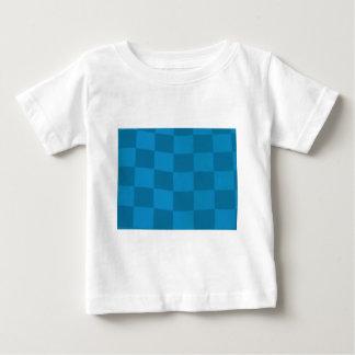 blue checkered flag baby T-Shirt