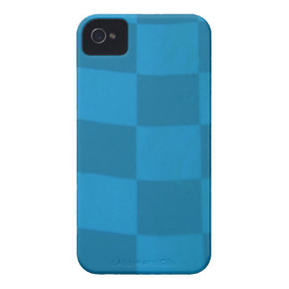 blue checkered flag iPhone 4 covers