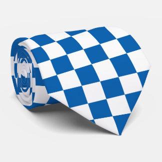 Blue Checkered Tie