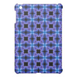 Blue Checkers Pattern Cover For The iPad Mini