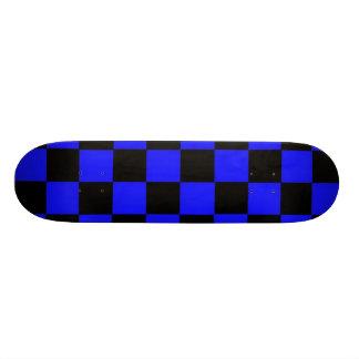 Blue Checks Skate Board Decks